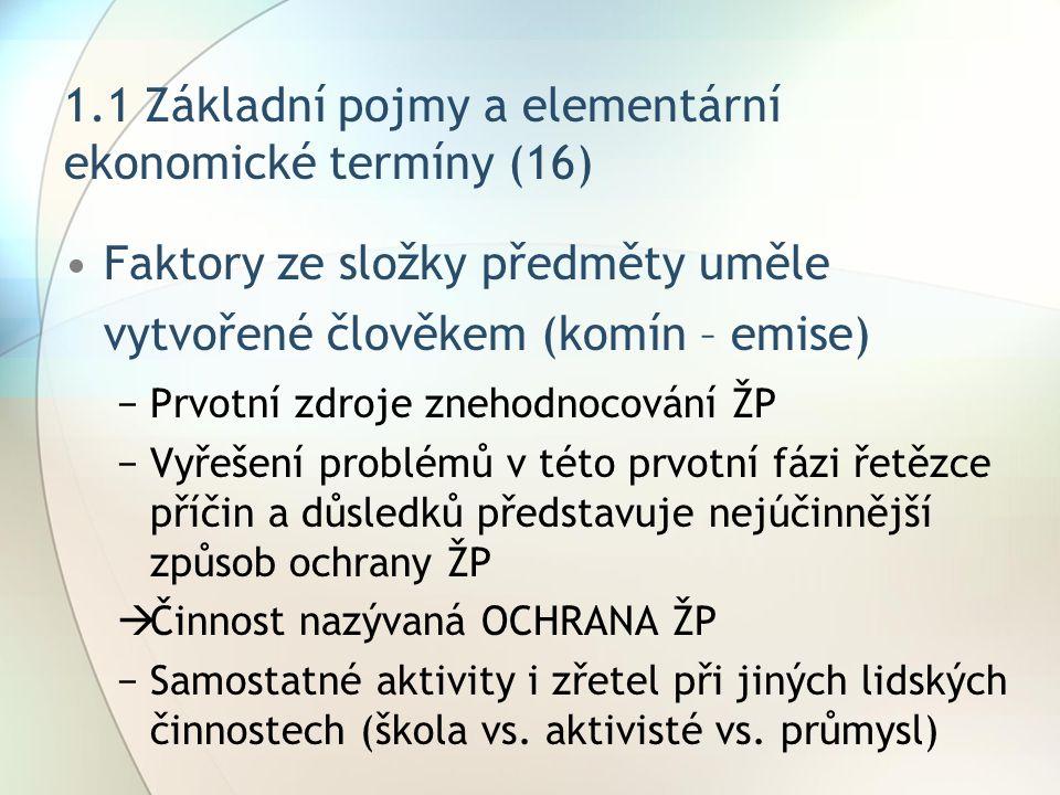 1.1 Základní pojmy a elementární ekonomické termíny (16)