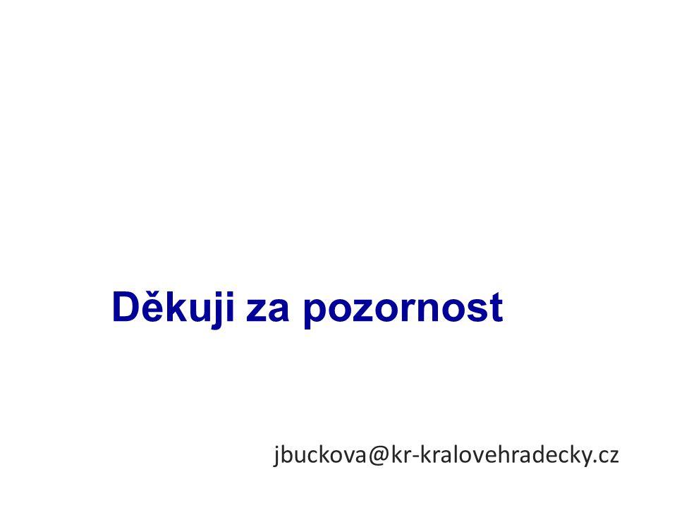 Děkuji za pozornost jbuckova@kr-kralovehradecky.cz