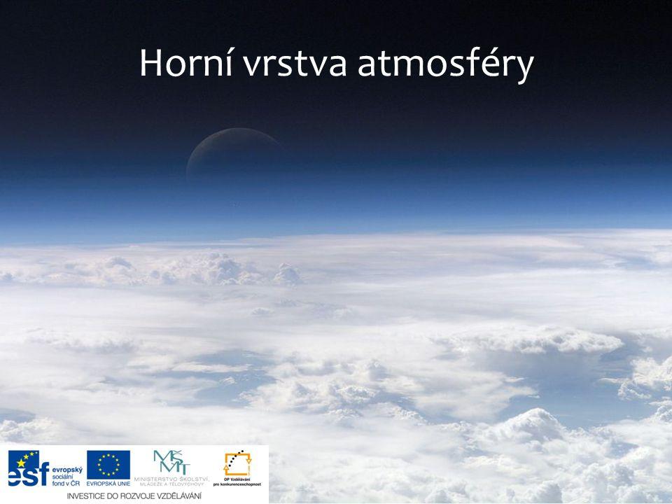 Horní vrstva atmosféry