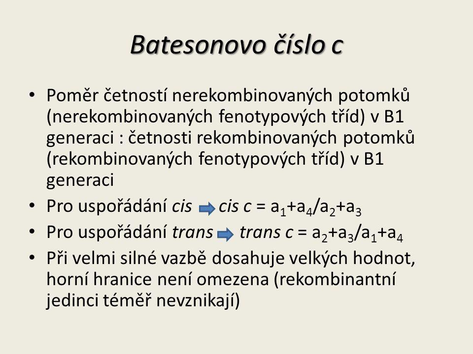 Batesonovo číslo c