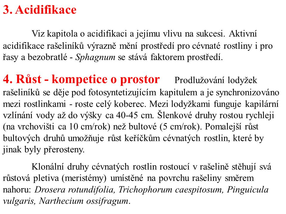 3. Acidifikace