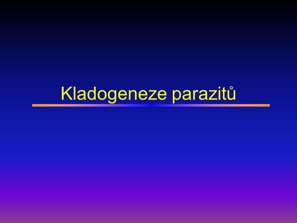 Kladogeneze parazitů