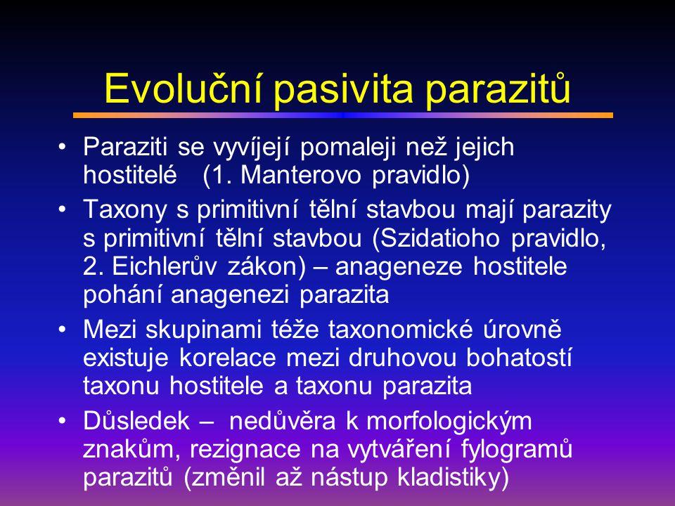 Evoluční pasivita parazitů