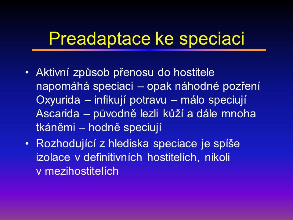 Preadaptace ke speciaci
