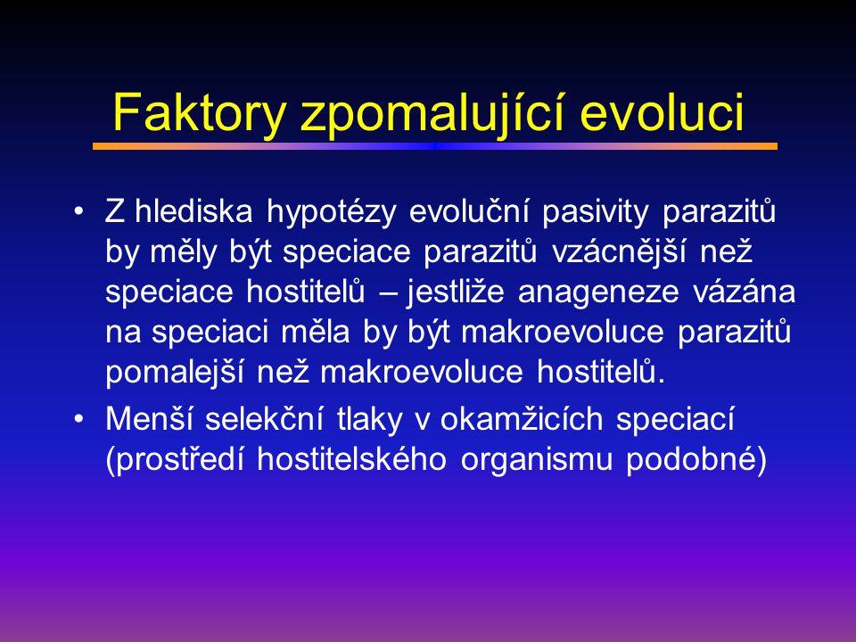 Faktory zpomalující evoluci