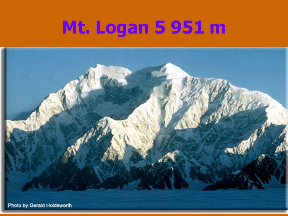 Mt. Logan 5 951 m