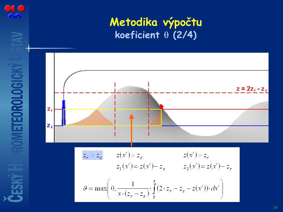 Metodika výpočtu koeficient  (2/4)