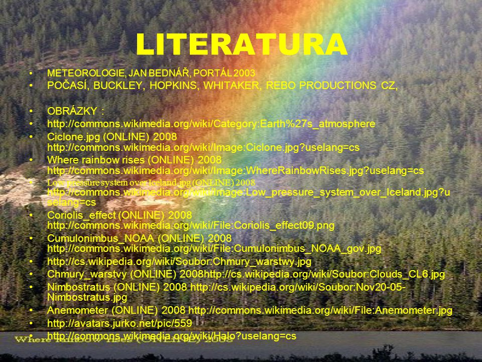 LITERATURA POČASÍ, BUCKLEY, HOPKINS, WHITAKER, REBO PRODUCTIONS CZ,