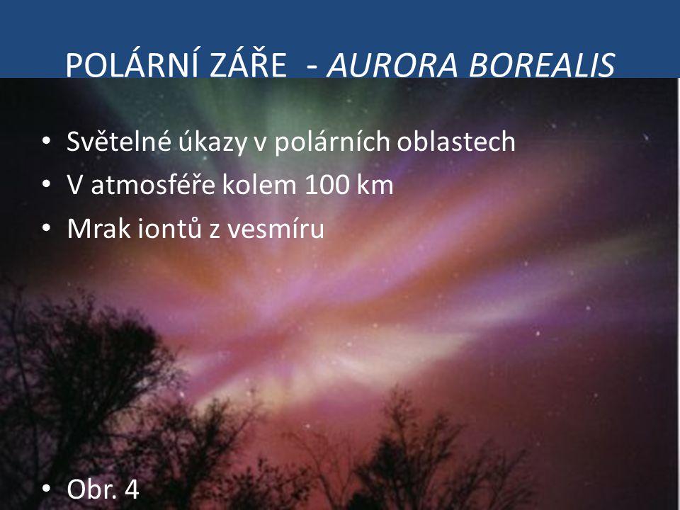 POLÁRNÍ ZÁŘE - AURORA BOREALIS