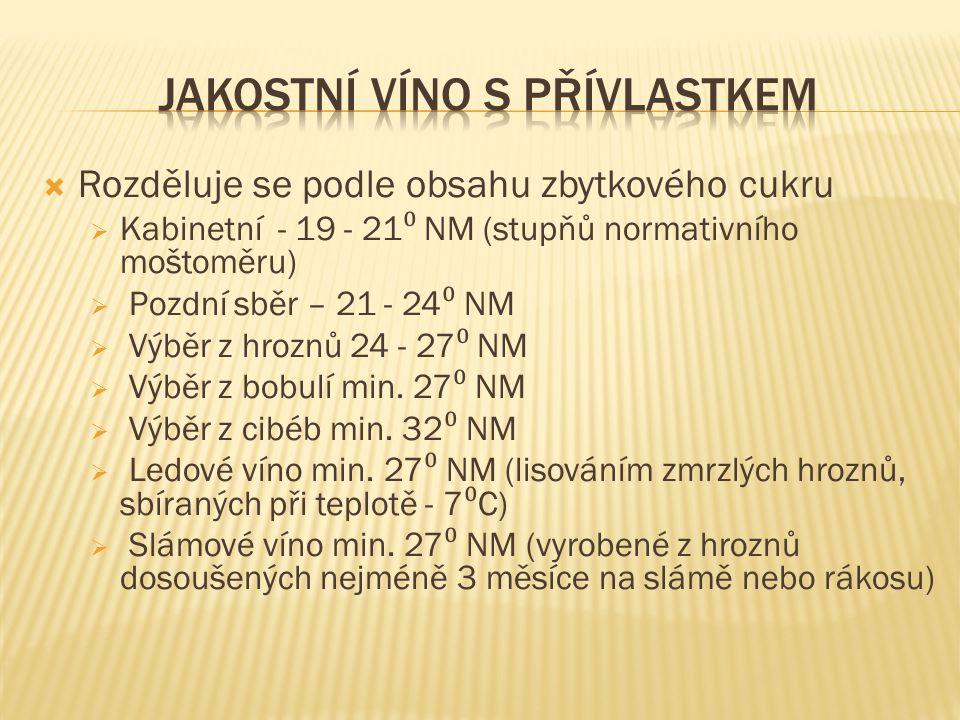 Jakostní víno s přívlastkem