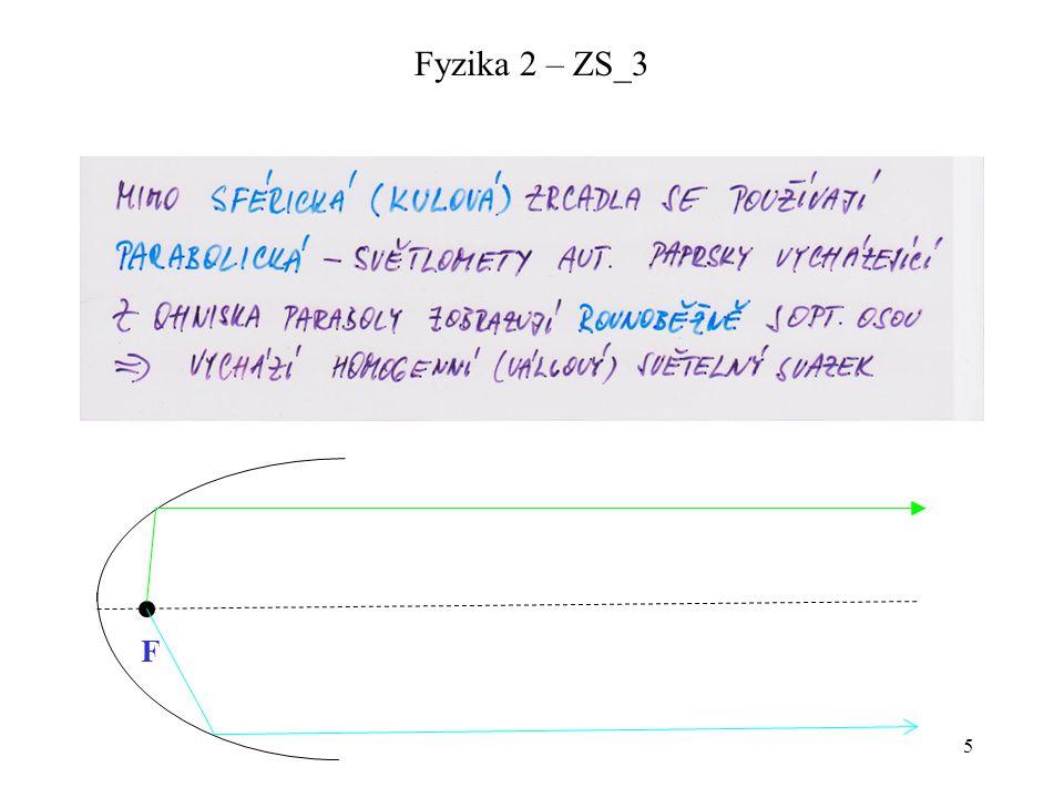Fyzika 2 – ZS_3 F