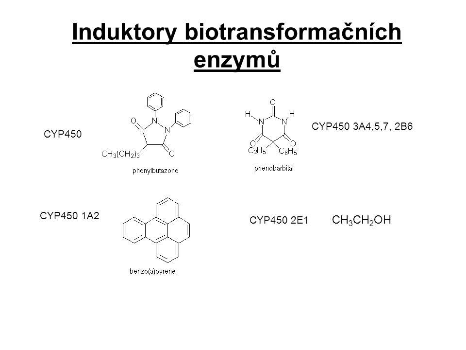 Induktory biotransformačních enzymů