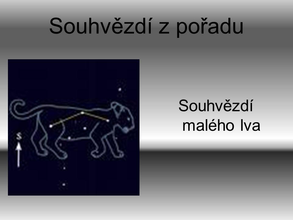 Souhvězdí z pořadu Souhvězdí malého lva