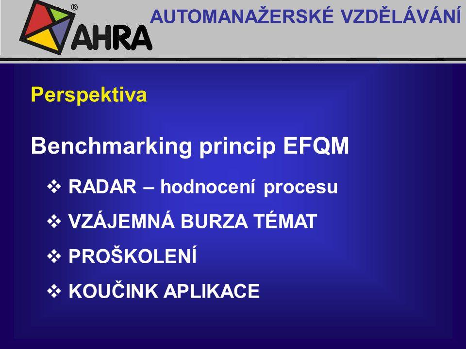 Benchmarking princip EFQM