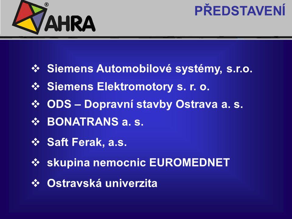 PŘEDSTAVENÍ Siemens Automobilové systémy, s.r.o.