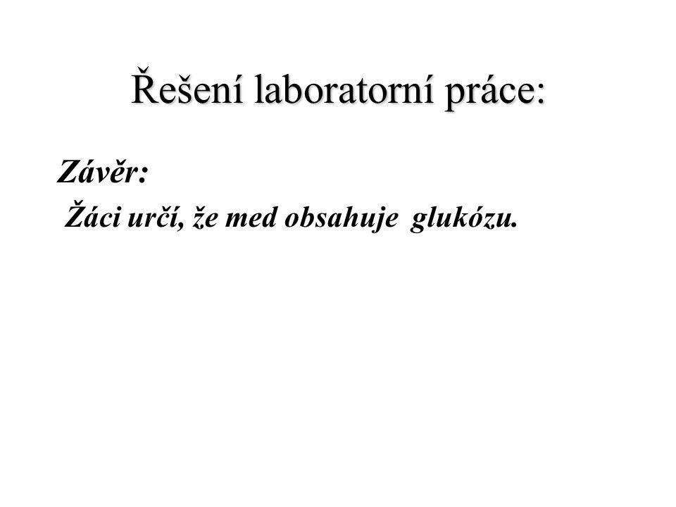 Řešení laboratorní práce: