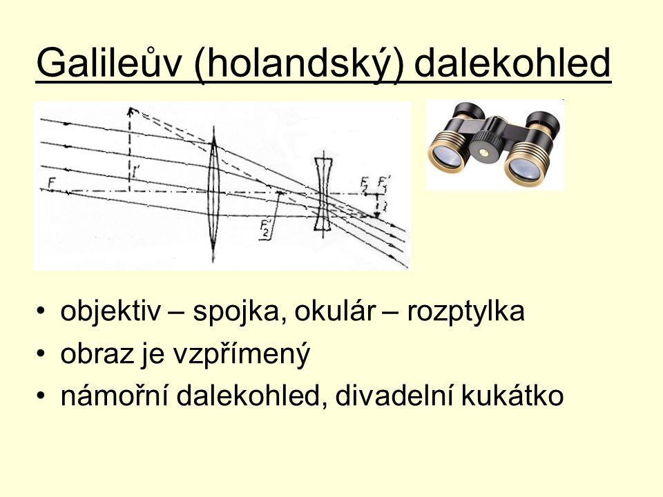 Galileův (holandský) dalekohled