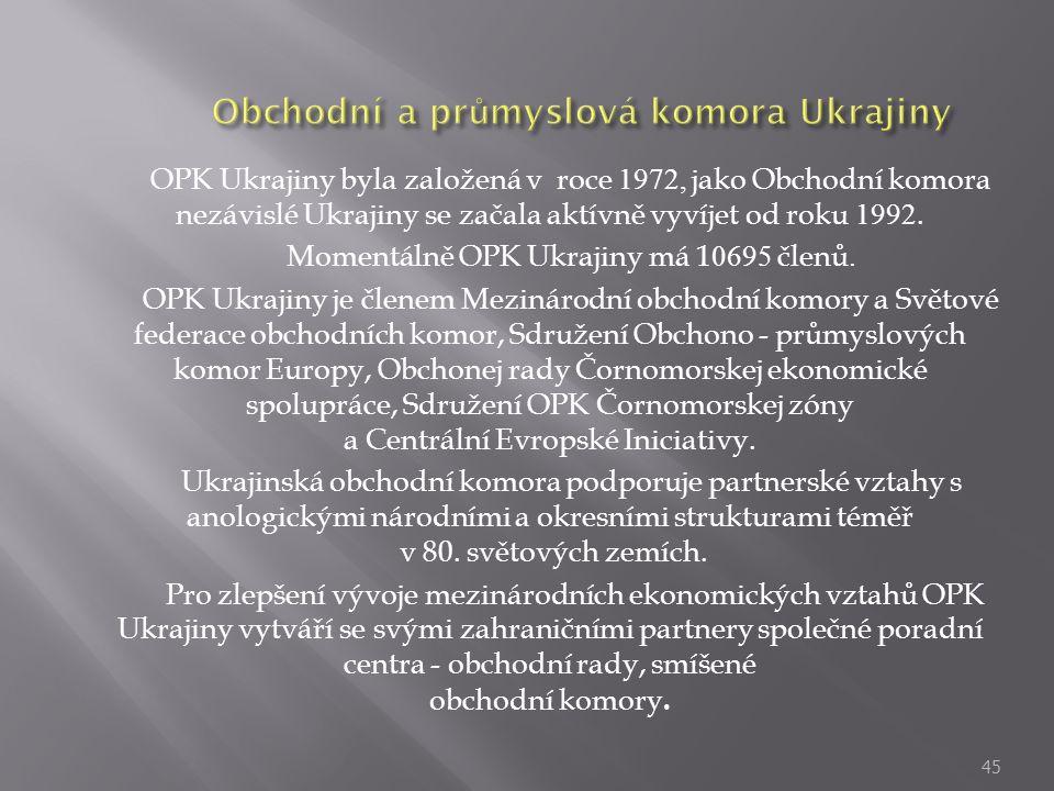 Obchodní a průmyslová komora Ukrajiny