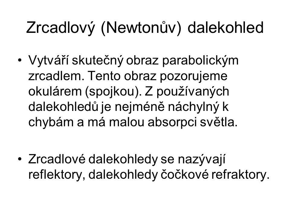 Zrcadlový (Newtonův) dalekohled