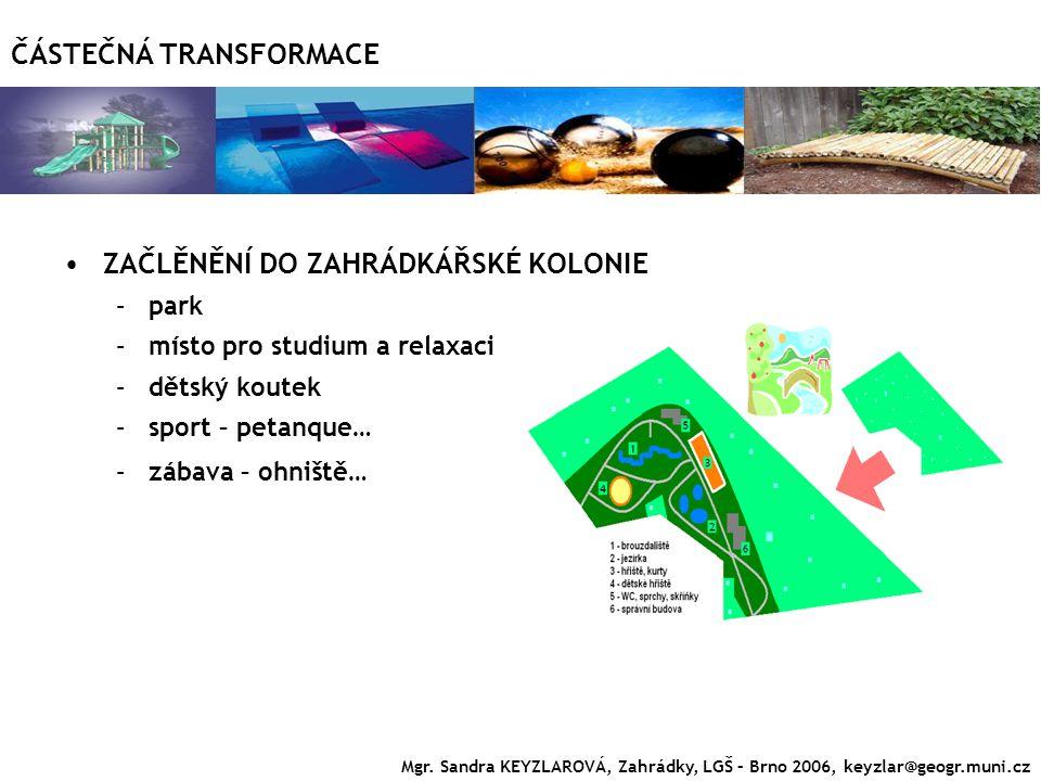 ČÁSTEČNÁ TRANSFORMACE