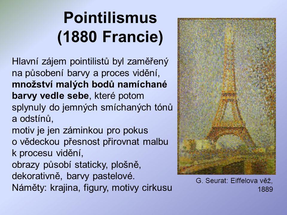 Pointilismus (1880 Francie)