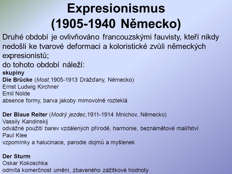 Expresionismus (1905-1940 Německo)