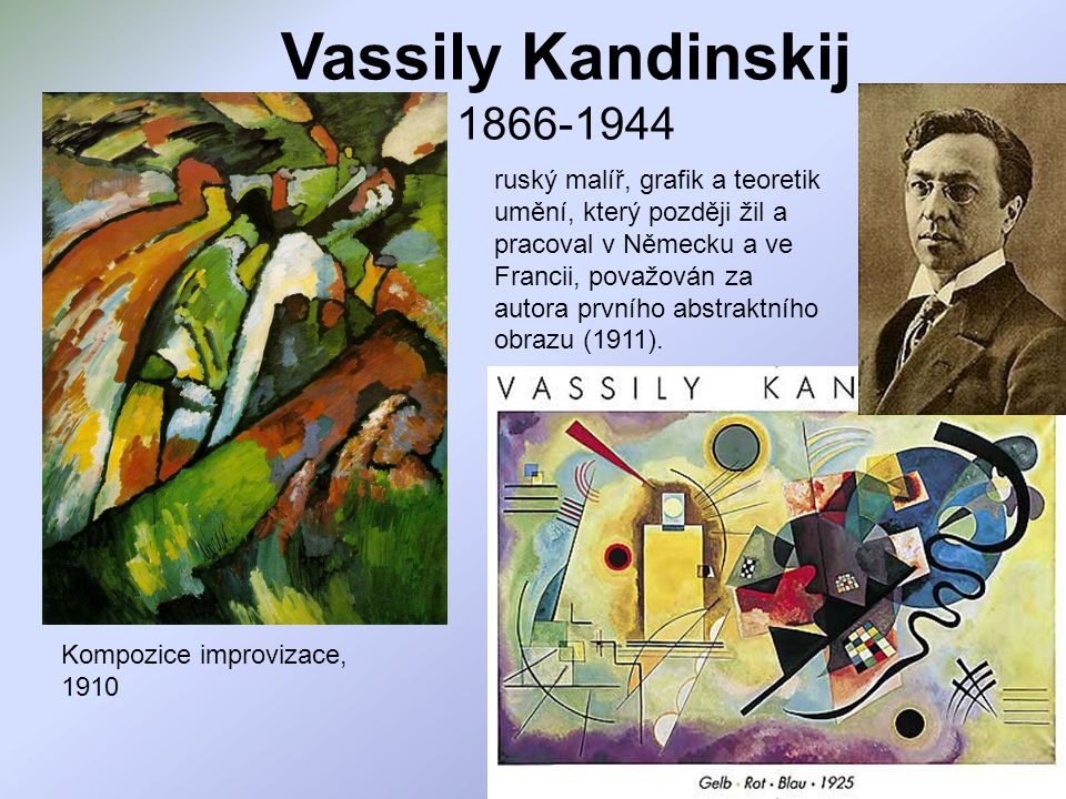 Vassily Kandinskij 1866-1944