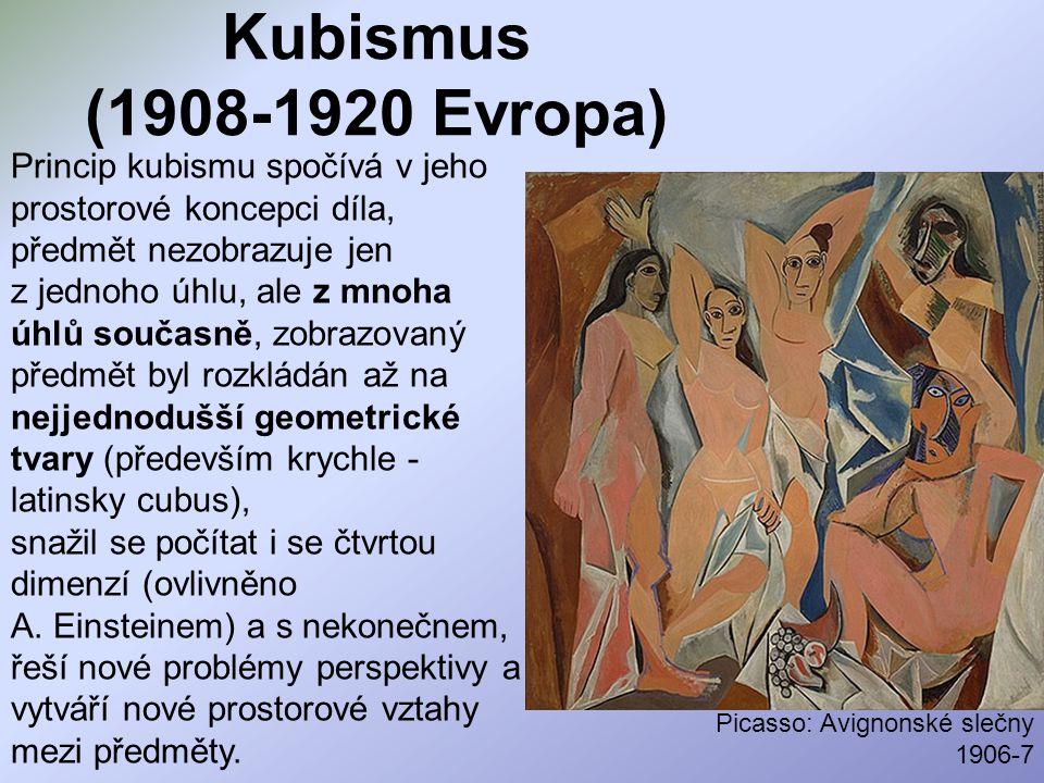 Kubismus (1908-1920 Evropa)