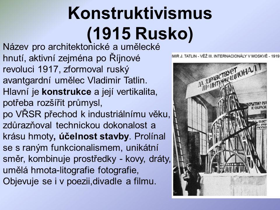Konstruktivismus (1915 Rusko)
