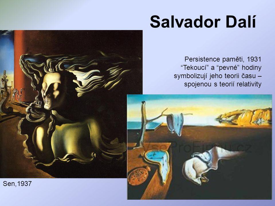 Salvador Dalí Persistence paměti, 1931