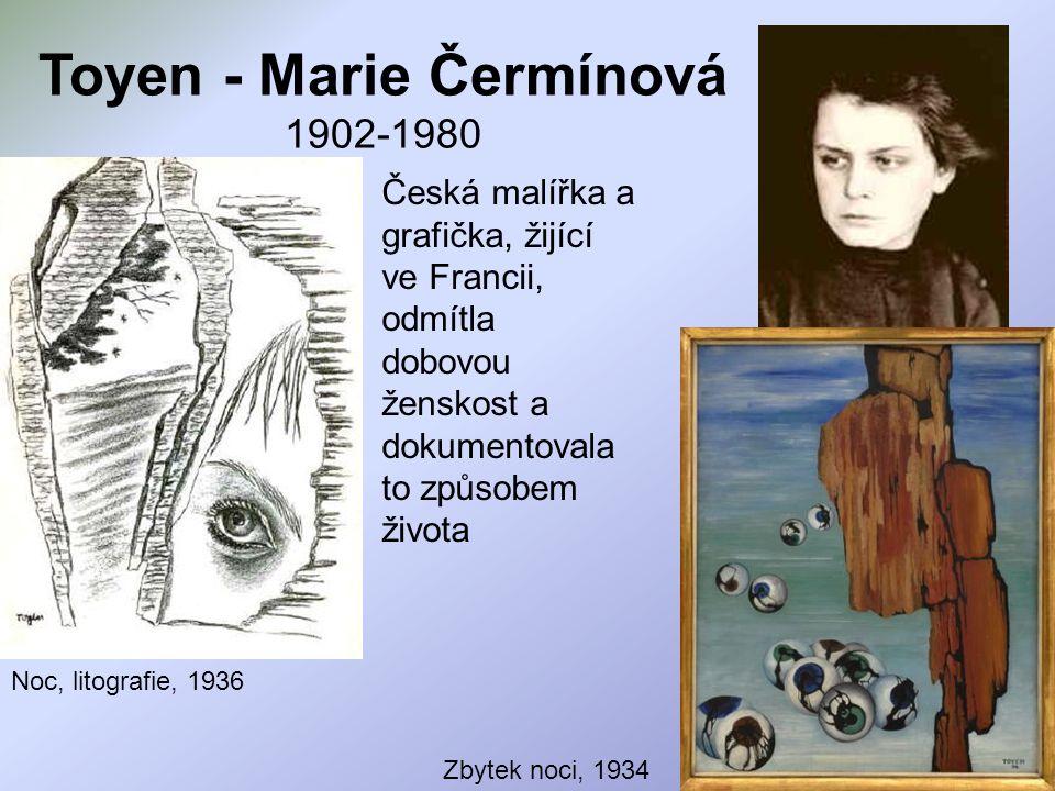 Toyen - Marie Čermínová 1902-1980