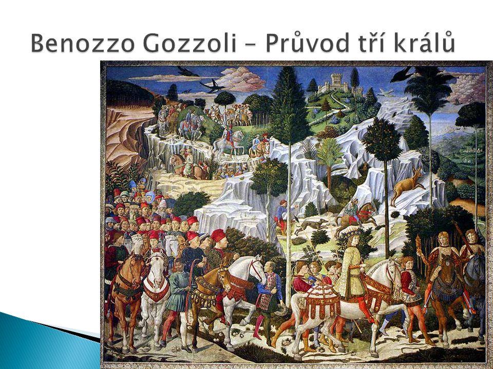 Benozzo Gozzoli – Průvod tří králů