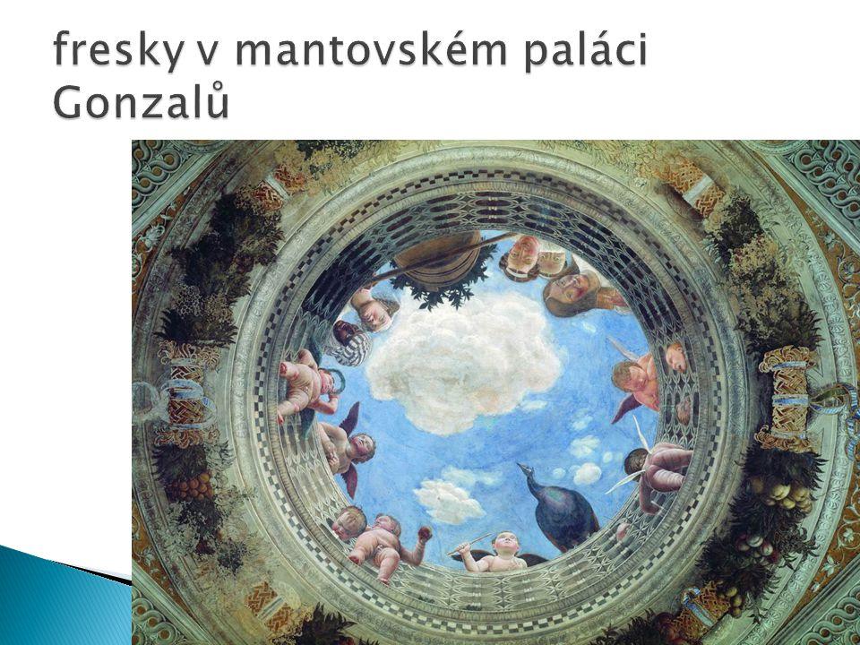 fresky v mantovském paláci Gonzalů