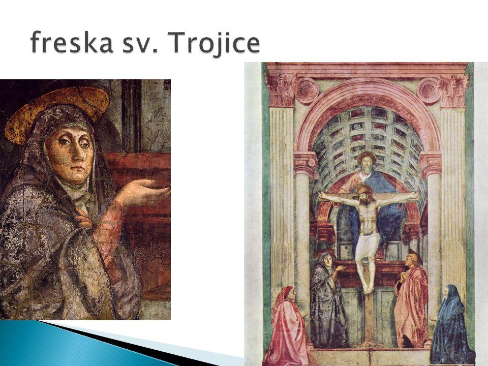 freska sv. Trojice