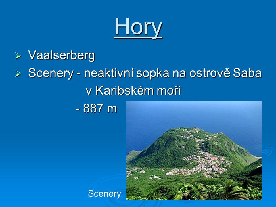 Hory Vaalserberg Scenery - neaktivní sopka na ostrově Saba