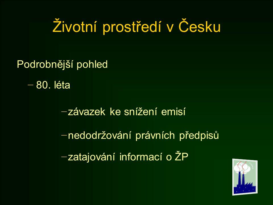 Životní prostředí v Česku
