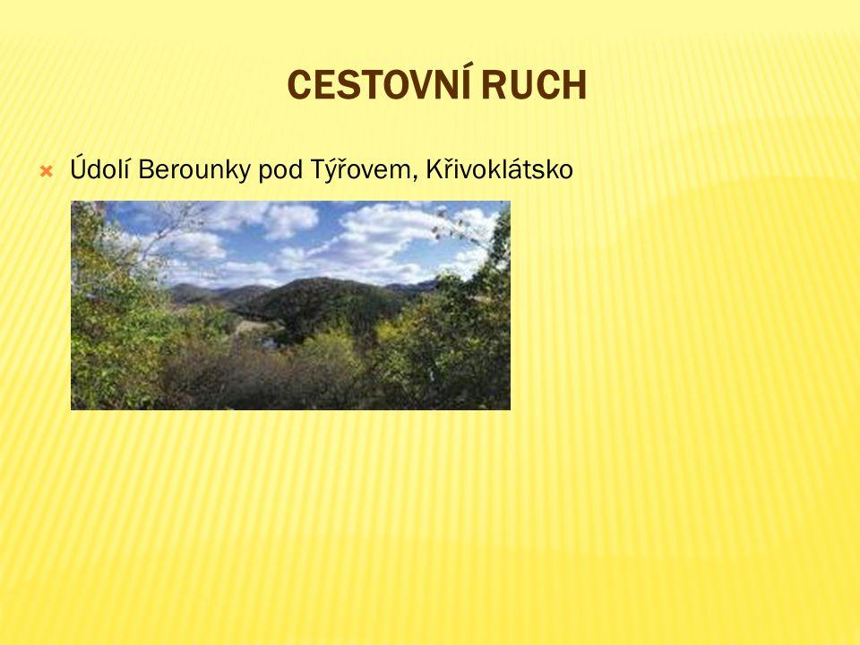 cestovní ruch Údolí Berounky pod Týřovem, Křivoklátsko