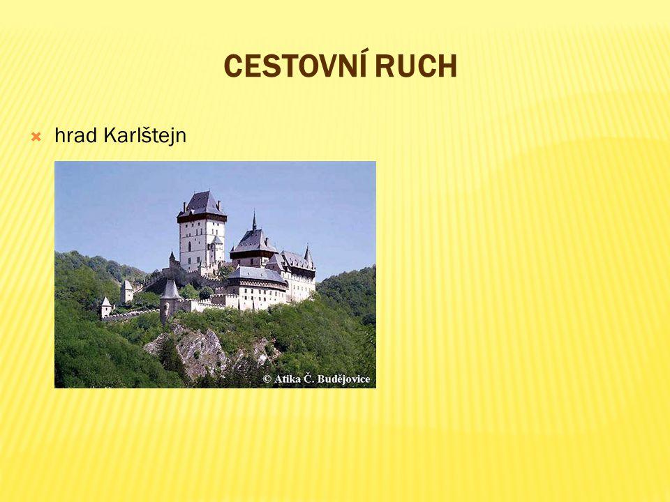 cestovní ruch hrad Karlštejn