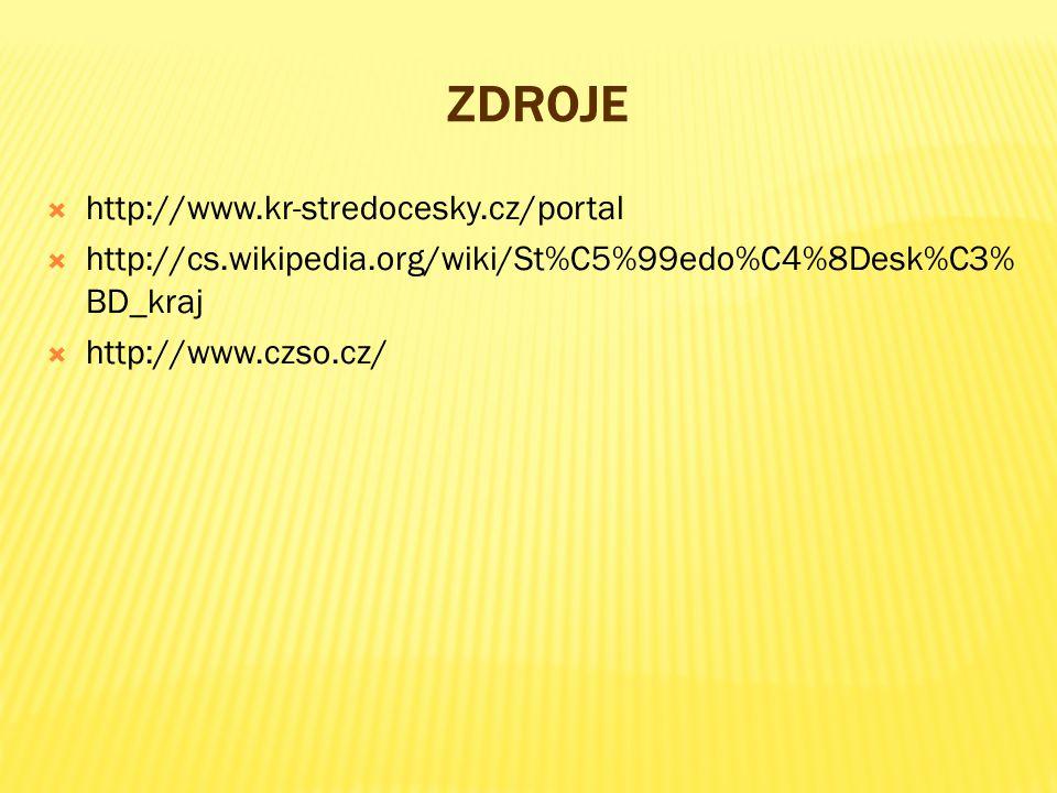 Zdroje http://www.kr-stredocesky.cz/portal