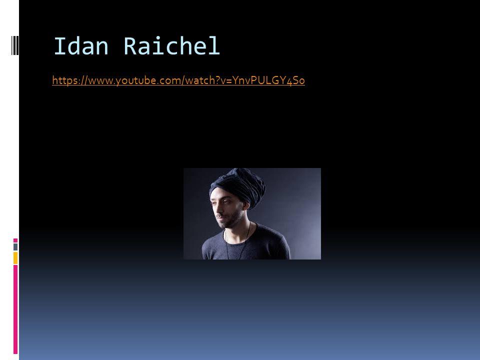 Idan Raichel https://www.youtube.com/watch v=YnvPULGY4S0