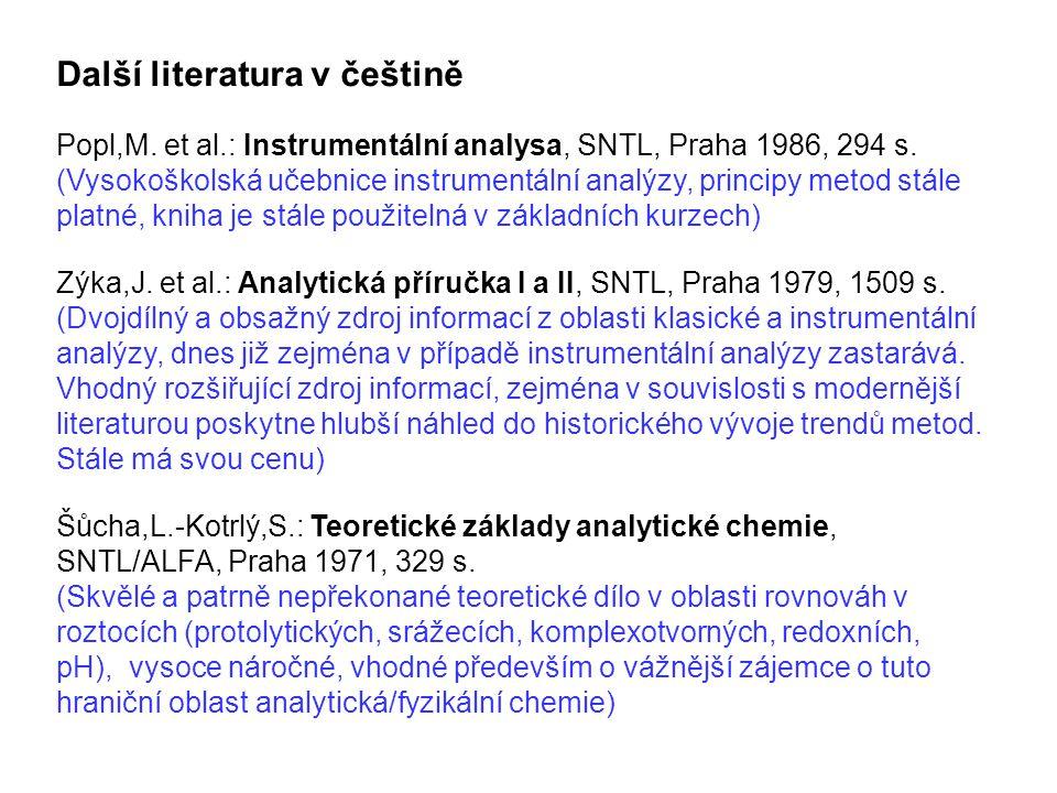 Další literatura v češtině