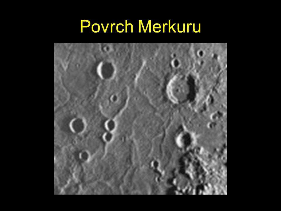 Povrch Merkuru