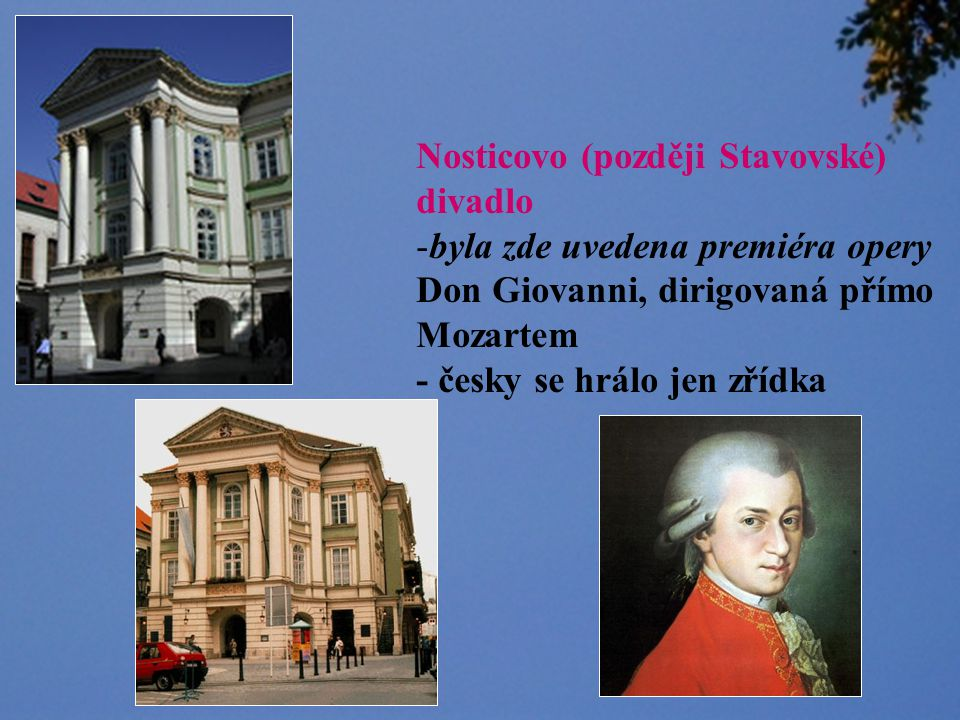 Nosticovo (později Stavovské)