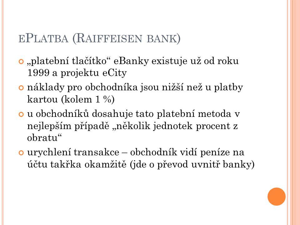 ePlatba (Raiffeisen bank)