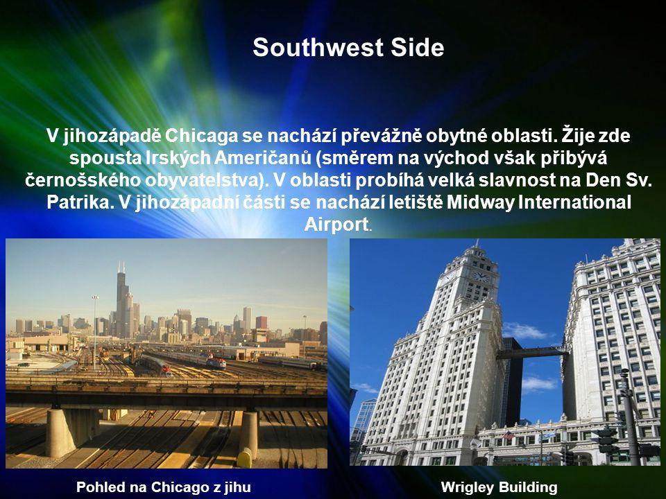 Pohled na Chicago z jihu