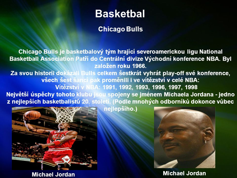 Basketbal Chicago Bulls.