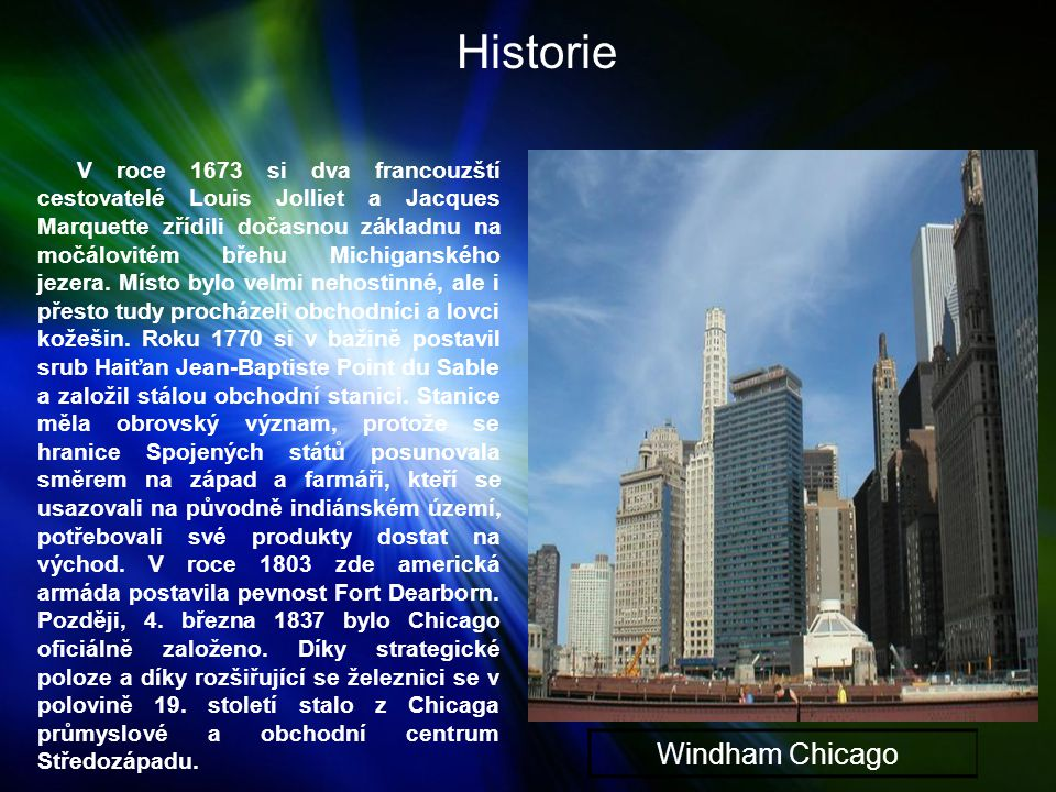 Historie Windham Chicago