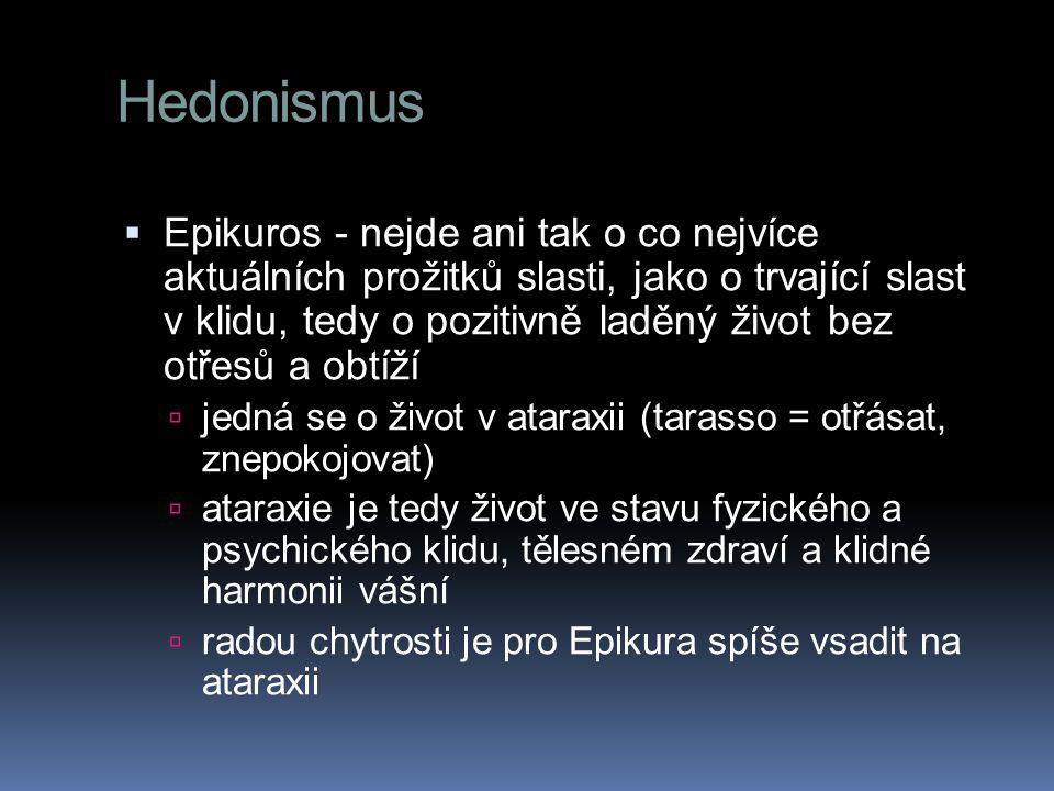 Hedonismus