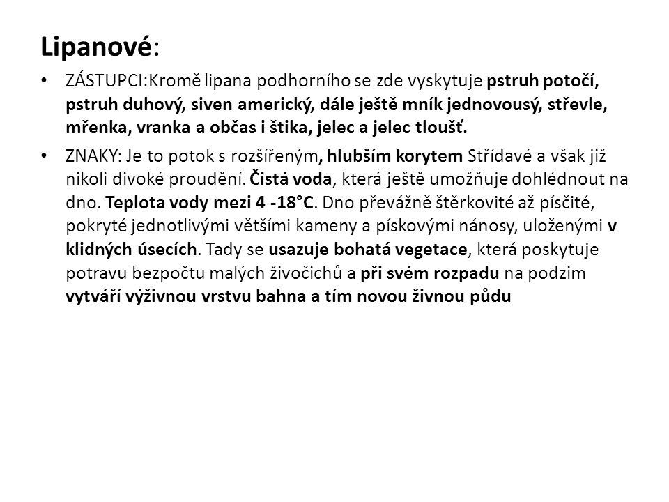 Lipanové: