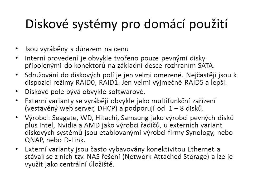 Diskové systémy pro domácí použití